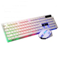 Factory wholesale machine best wired keyboard mouse combo Wired gaming keyboard and mouse combo USB Interface
