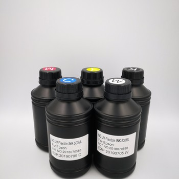 High quality UV curable ink for Epson R1800 R1900 R2000 R3000 UV LED INK