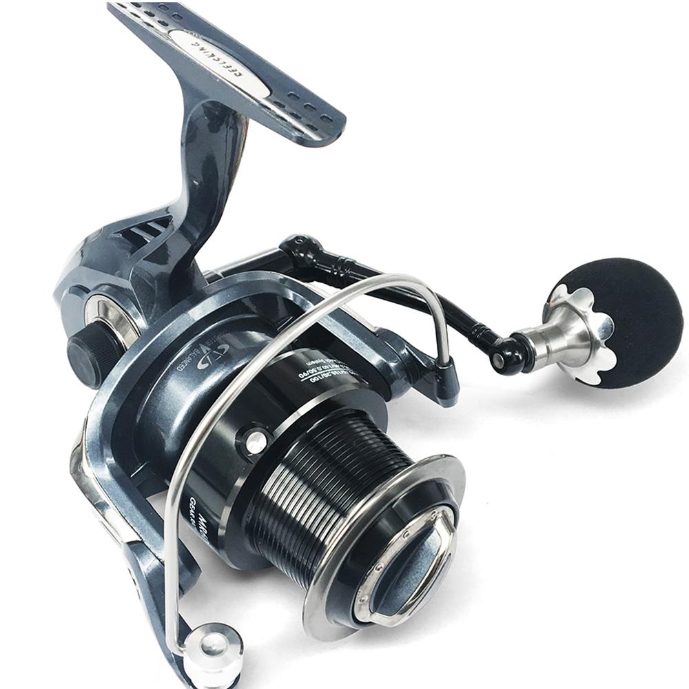 MR4000/5000/6000/7000/8000/9000/10000 Long Shot 13+1BB Spinning Wheel Big game Line Capacity fishing reel