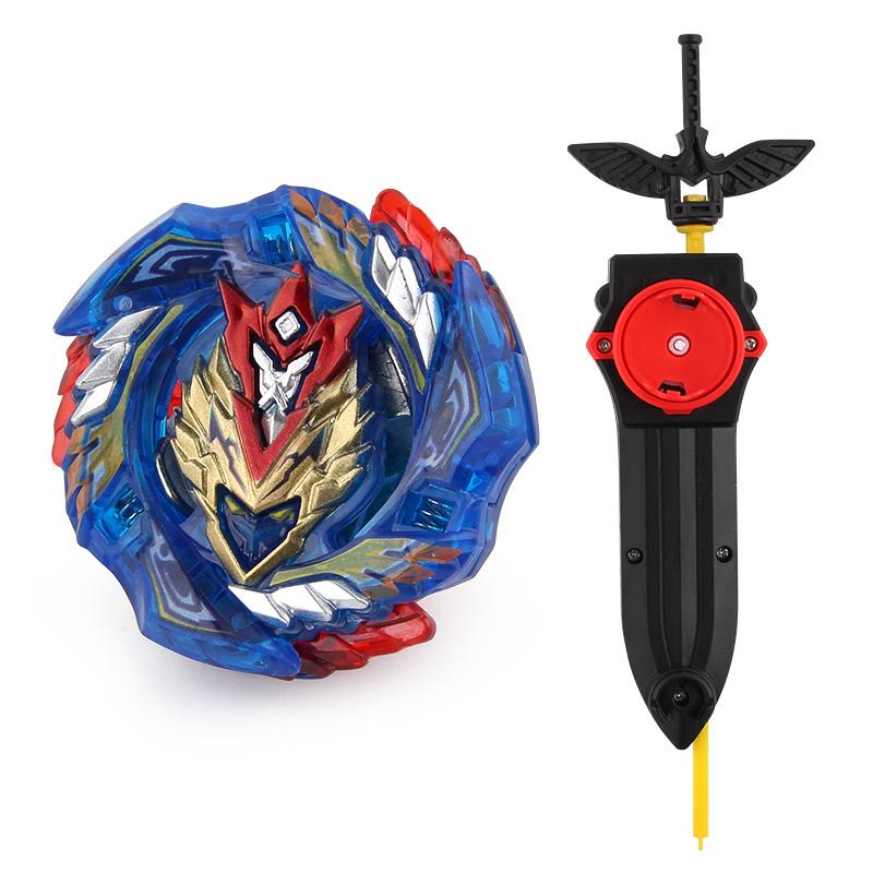 Beyblades-juguete de fusión de Metal para niños, batalla Bayblade Burst, juguete giratorio, giroscopio, B-127 con lanzador de Beyblades