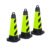 New style parking pvc flashing traffic cone light