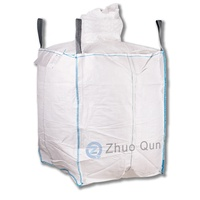 Polypropylene 1 ton plastic Jumbo bag sand bags 1 mt big bag for cement