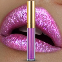 6 Warna glitter lipgloss Private Label Lip <span class=keywords><strong>gloss</strong></span> Membuat Sendiri