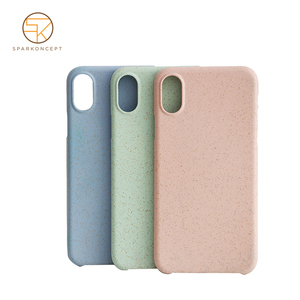 environmentally safe reinforced easy to grip compostable smooth bio mobile cell phone case