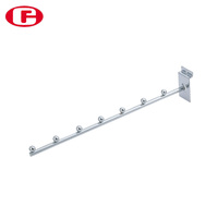 High quality metal display slatwall hanging hooks for clothes hanger