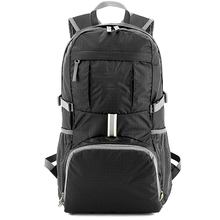 7 color unisex waterproof travel Sport school backpack lightweight hiking backpack with shoe compartment