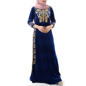 Abaya 2019 Dubai S upreme Clothing Garment Wholesale Market Fancy Ethiopian Women Wedding Long Sleeve Dress