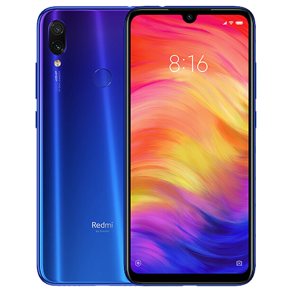 Global Version smartphone mi phone Xiaomi redmi Note 7 4+128G фото