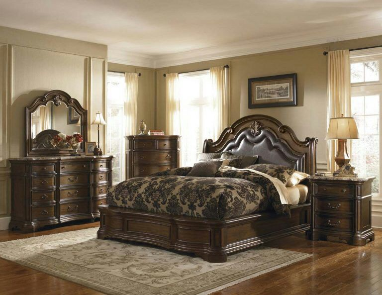Classic King Size Bedroom Set European Style Hot Sell Royal Luxury Bedroom Furniture