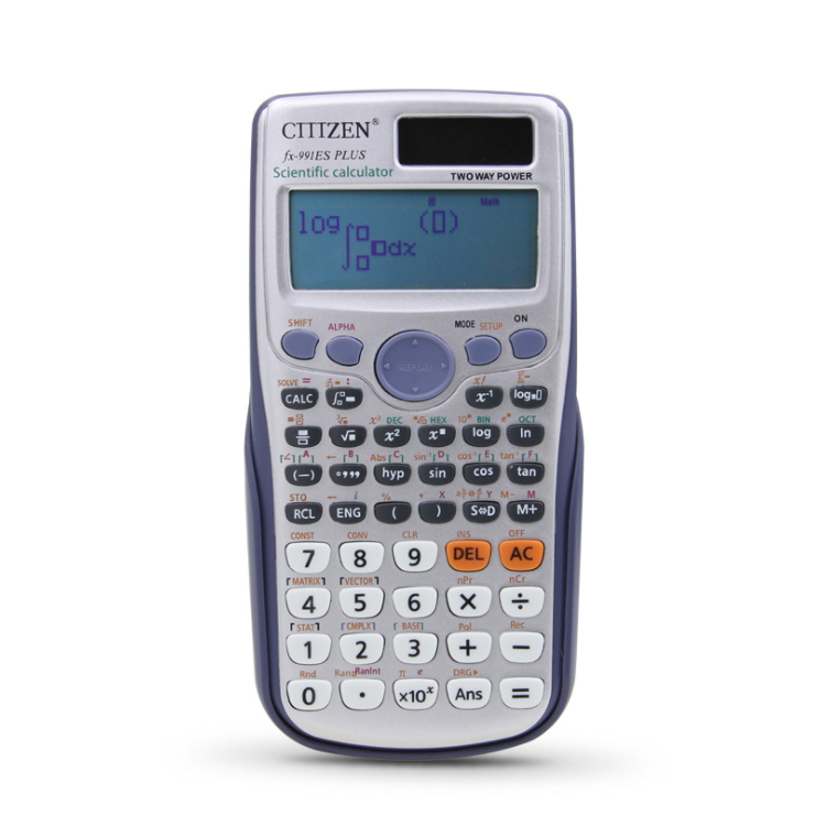 GTTTZEN praktische elektronische geschenk artikel flip telefon fx 991 es plus 414 folding scientific calculator