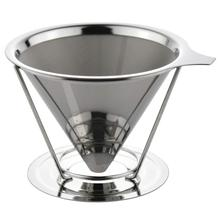 Draagbare SUS304 Cone Filter Infuus Koffiezetapparaat/Koffie Filter <span class=keywords><strong>Brouwer</strong></span>