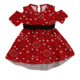 Fashion kids girls dresses kids frock designs pictures spandex+cotton baby girl dresses with belt