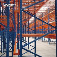 Large capacity warehouse storage selective pallet rack