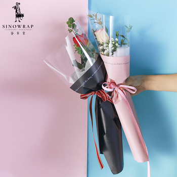 2018 New Arrival Wholesale Bouquet Waterproof Fresh Flower Wrapping Paper
