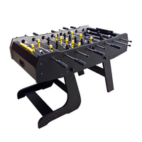 SZX 54'' Cheap playcraft sport soccer foosball table with folding leg for home
