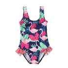 hot spring summer Girls' One-Piece Swim Bathing Suit children swim wear flamingo/unicorn
