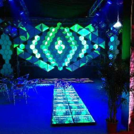 finest selection bb88b da6f1 Modern Fashion 3d Rgb Led Wall Background Decorative Ceiling Disco  Nightclub Panel Light - Buy Led Ceiling Light,Ceiling Lights Modern,Wall  Background ...