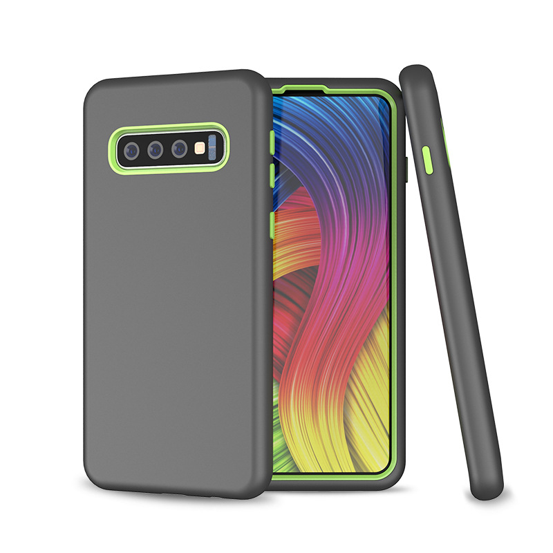 3 in 1 Hybrid Silicone PC Mobile Back Cover Galaxy s10 Case Dustproof phone case shockproof For Samsung S10 case Rugged 360, N/a
