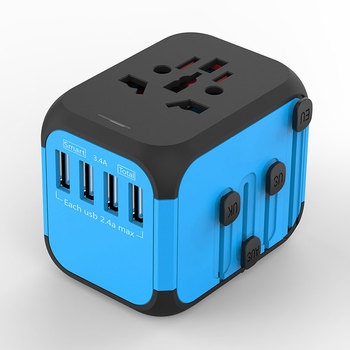 2019 Fashion gadgets world travel adapter customized business gift unique design by Otravel