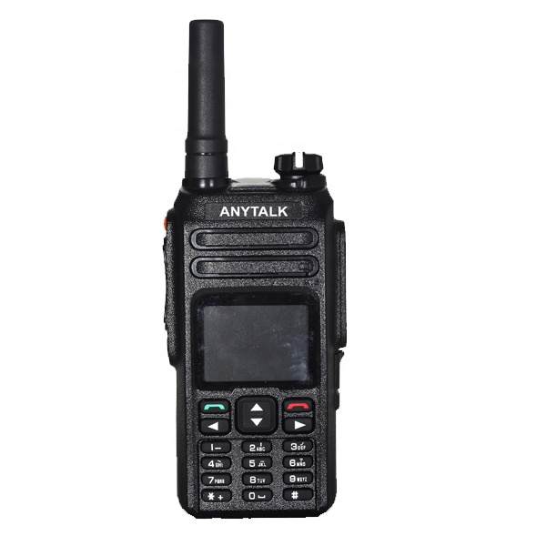 Unlimited range Network Walkie talkie 3G PTT radio WCDMA GSM  internet radio with SIM Card AT-588W