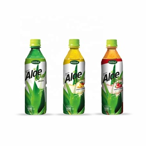Popular Aloe Vera Juice With Pulp with Fruit Flavor