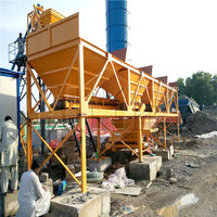 commercial small mobile concrete batch/mixing plant price