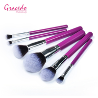 Ready To Ship 6pcs New Arrival Wood Makeup Brush Set