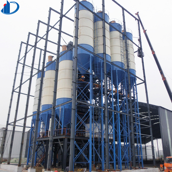 Vertical Bulk Bolted Manufacture Concrete 20 25 30 40 50 60 90 100 120 400 250 200 500 150 300 ton Cement Silo Price for sale