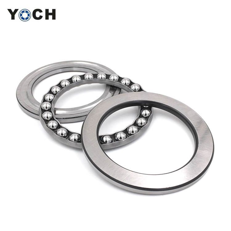 ABEC-1,<strong>3</strong>,5,7,9 Precision Rating and Thrust structure ball bearing 51111