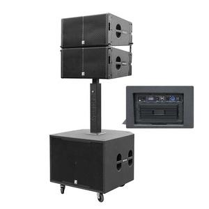 12 inch array line dj sound system 2-way line array powered speaker