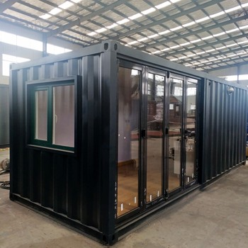 ready cabin prefabricated modern villashipping living modern glass modular kitchen bathroom container homes