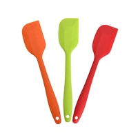 Best Selling Kitchen Colorful Silicone 3 pieces Spatula Set