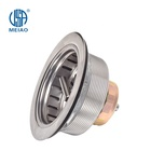US standard stainless steel kitchen sink drain waste plastic strainer