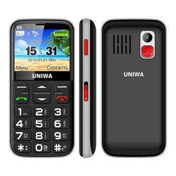 New Mobile Phone 3G WCDMA V808G Keypad Mobile Phone