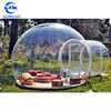 Customized inflatable bubble tent camping,house tent inflatable clear dome tent