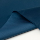 satin polyester filament shiny fabric for women dress gown fashion dark blue soft smooth feeling