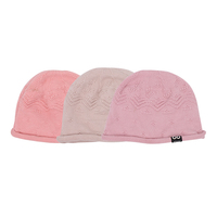 Pure cotton knit beanie warm winter new mommy women hats