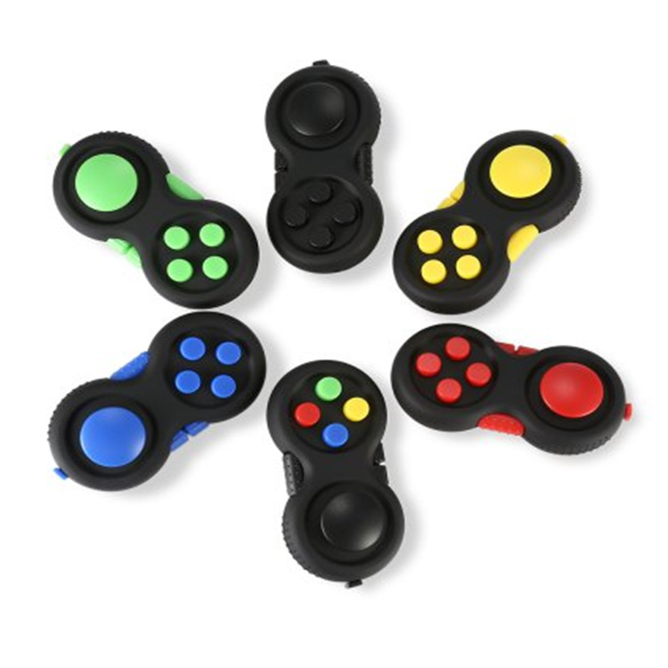 Amazon High Quality Hand Playing Crazy Fidget Pad Cubes Anti Stress <strong>Toys</strong>