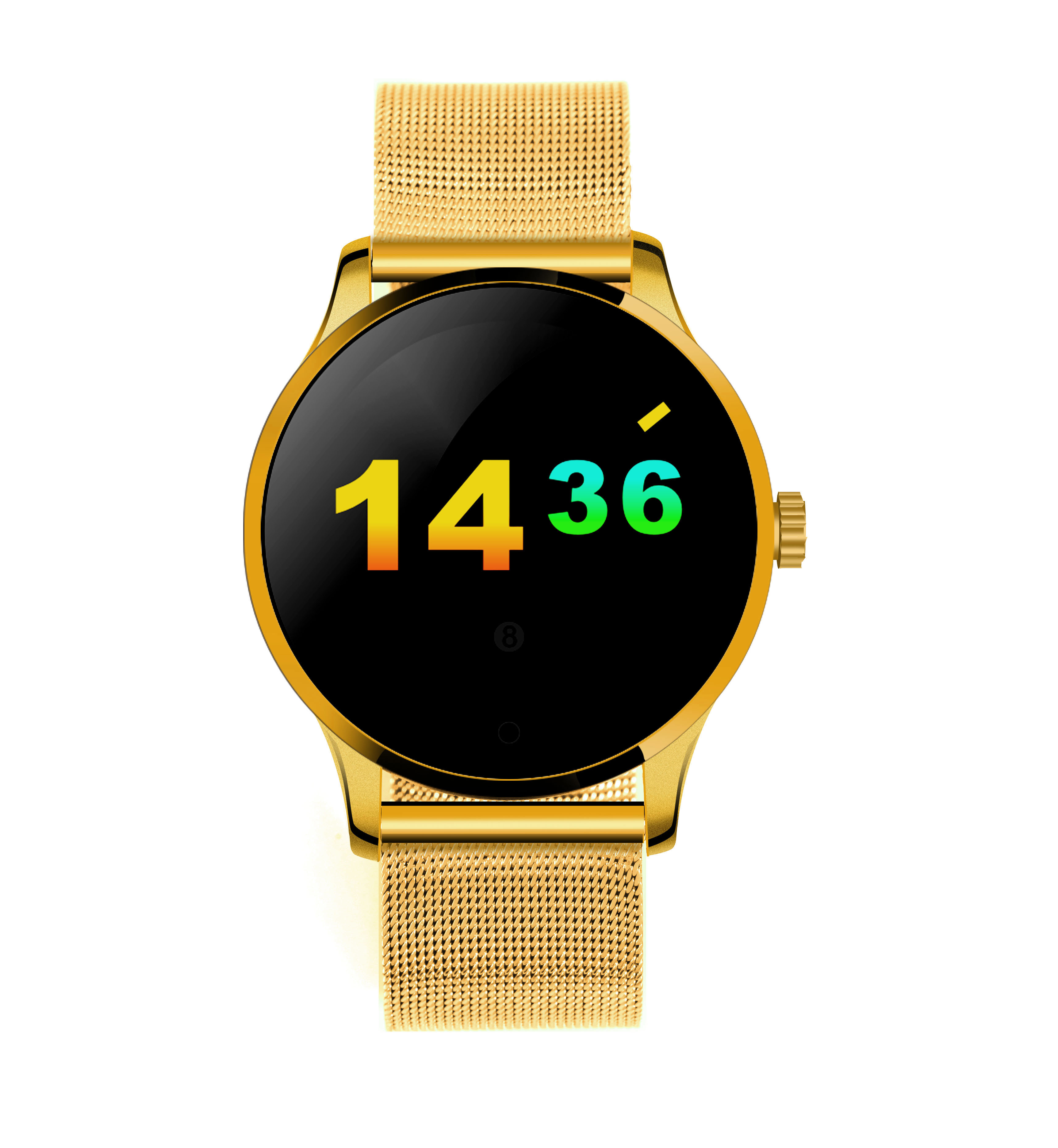 K88H Bluetooth Smart Watch MTK2502 voice control Smartwatch The Waterproof Smart Clock With Powerful Battery Pedometer