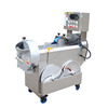 Root vegetable dicing machine lettuce cutter machine for cooking preparation