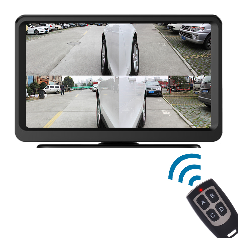 Zhi DaoF4 vehicle in side display video split with quad view camera