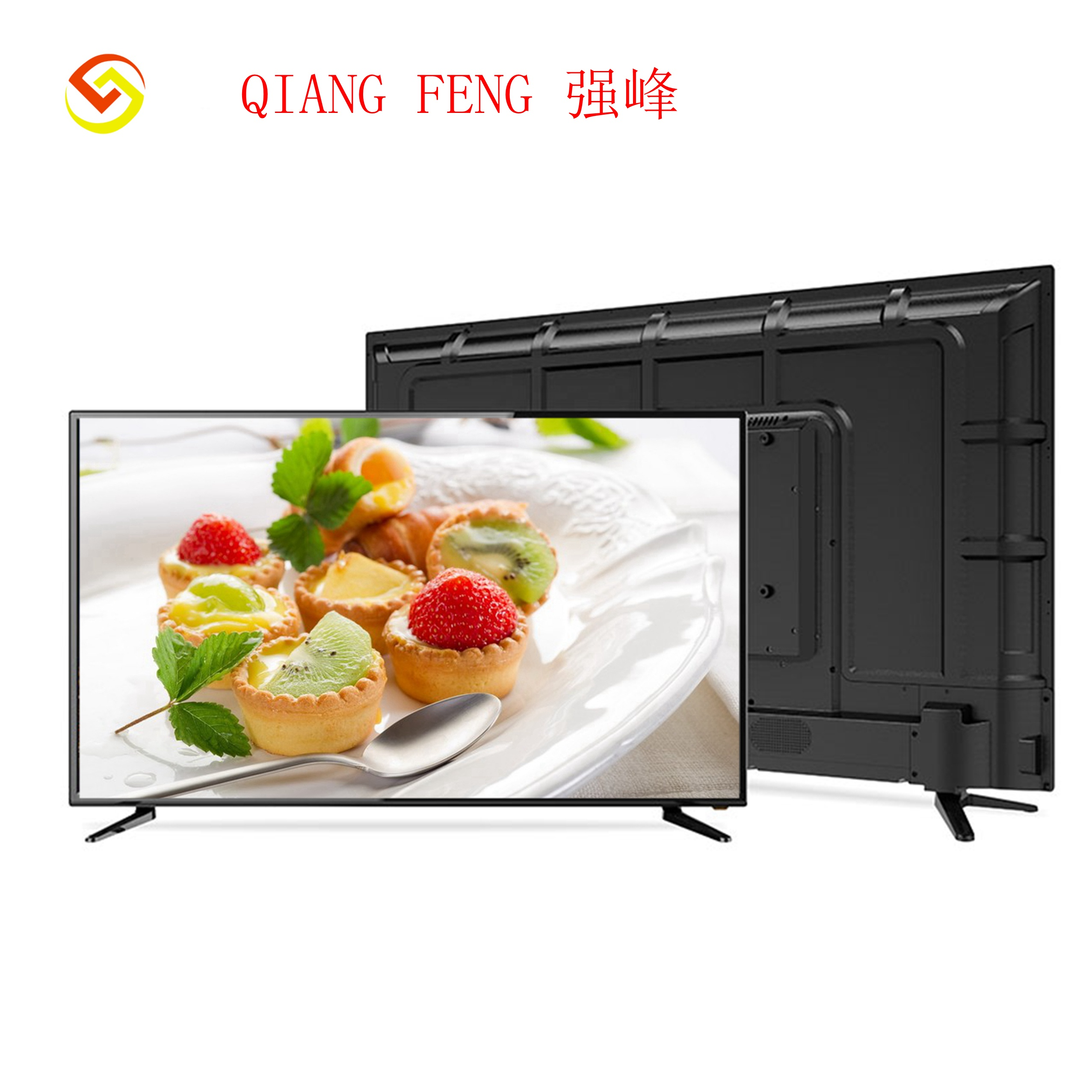 Qiangfeng 22 Inch Cheap Chinese <strong>TV</strong> LED DLED Without Front Glass Model <strong>TV</strong> television smart android SKD <strong>TV</strong>