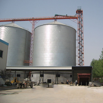The lowest price 3000  ton flat bottom steel silo for sale with best quality