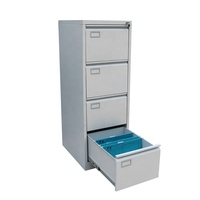 High Quality Office Furniture Metal 4 Drawer Vertical Filing Cabinet