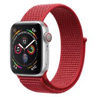 For Apple Watch 1234 Nylon Knitted Ring-back Sports Watch Strap Applicable For Apple Watch Magic Stick Nylon Watchband