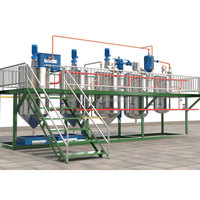 1-10TPD small scale palm oil refining machinery/ refined palm oil malaysia