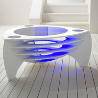 100% pure acrylic extremely durable solid surface Furniture Office Table for decoration