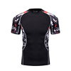 OEM Service Cool Fashion Printed Energetic Compression Sports Fitness Wear for Men