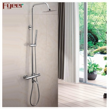 High Quality Brass Thermostatic Shower Faucet with SS Shower Head