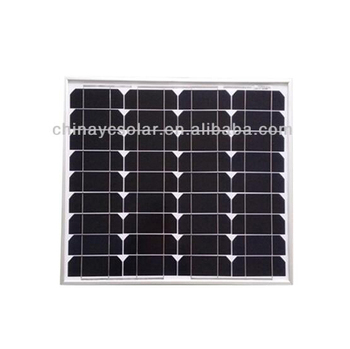 50W YuanChan Excellent Hot Sale Mono Solar Panel Manufactures in China